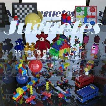 - Quadro -La tienda de juguetes- - Aguirre Vila-Coro, Juan