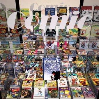 - Quadro -La tienda del comic- - Aguirre Vila-Coro, Juan