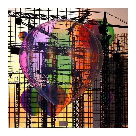 pinturas modernas - Quadro -La jungla de cristal 1-