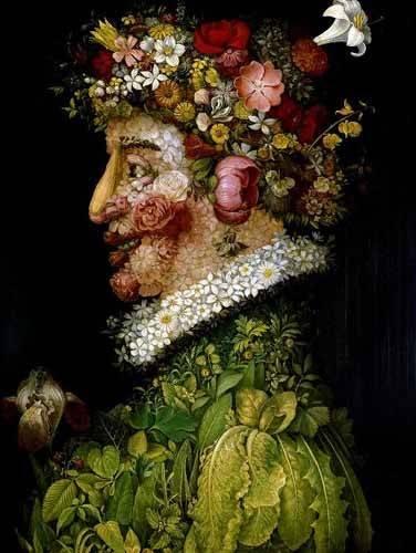 cuadros decorativos - Cuadro -La primavera- - Arcimboldo, Giuseppe