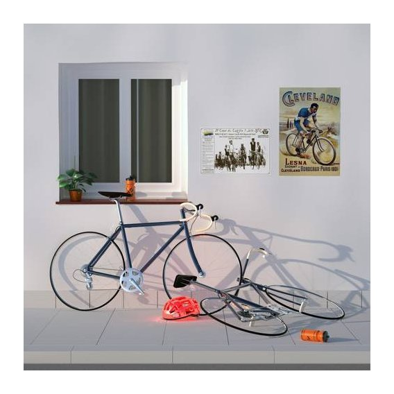 pinturas modernas - Quadro -Clenbuterol en el tour-