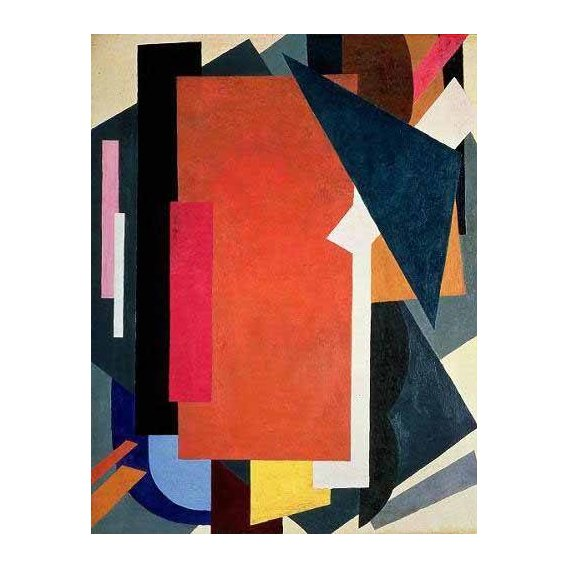 abstracts paintings - Picture -Painterly architectonics-