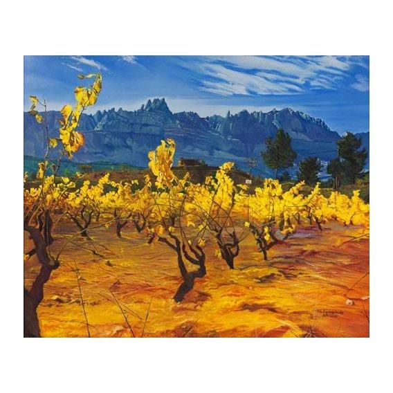pinturas de paisagens - Quadro -Paisaje-