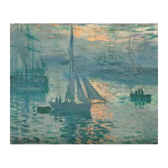 pinturas de paisagens marinhas - Quadro -Sunrise (Marina)-
