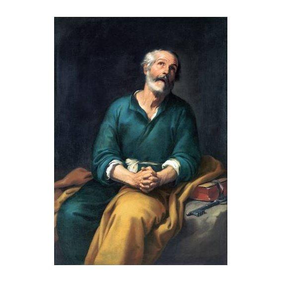imagens religiosas - Quadro -San Pedro en lágrimas-