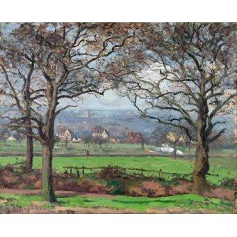 - Quadro -Near Sydenham Hill- - Pissarro, Camille