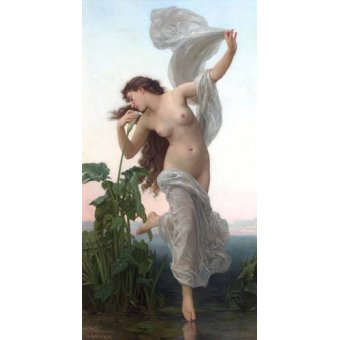 quadros nu artistico - Quadro -L'Aurore- - Bouguereau, William
