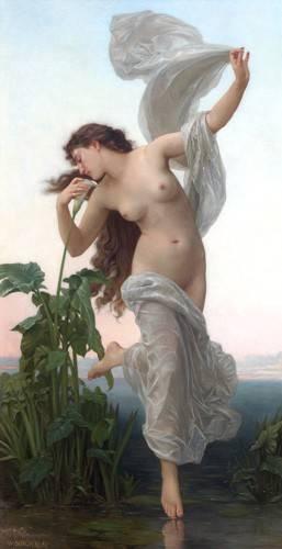 quadros-nu-artistico - Quadro -L'Aurore- - Bouguereau, William