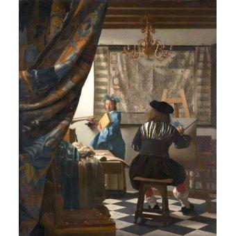 - Quadro -The Art of Painting- - Vermeer, Johannes