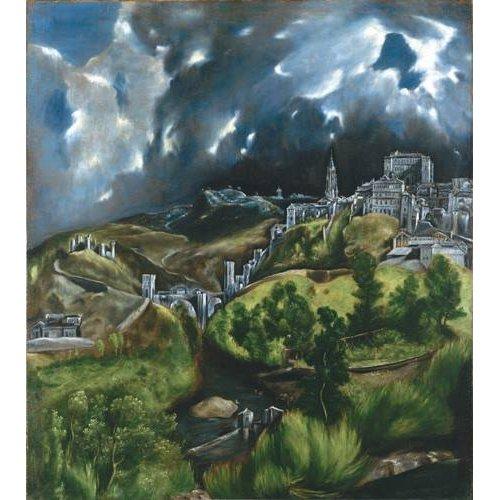 Quadro -Vista de Toledo, 1596-