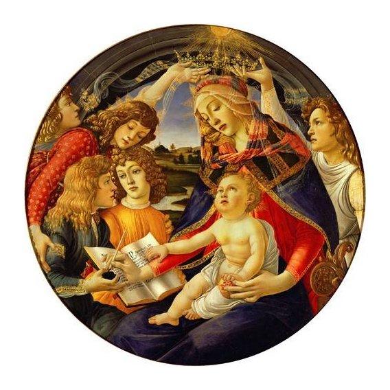 imagens religiosas - Quadro -La Virgen Del Magnificat-