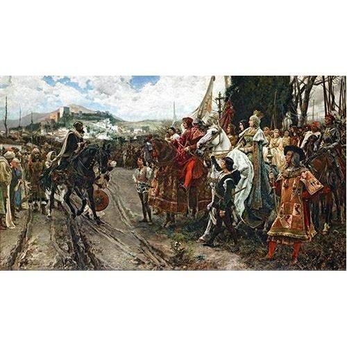 Quadro -La Rendición de Granada-