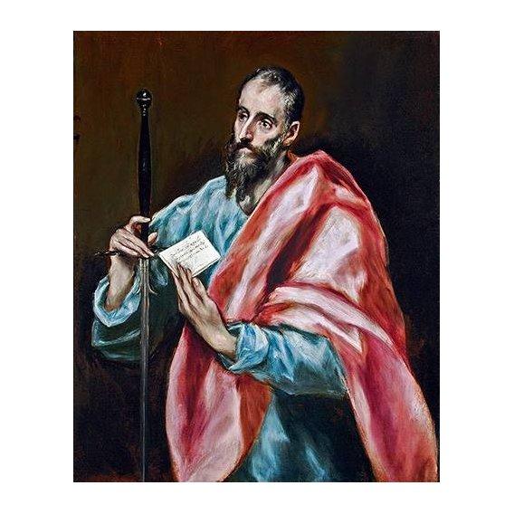 imagens religiosas - Quadro -San Pablo-