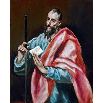 quadros religiosos - Quadro -San Pablo- - Greco, El (D. Theotocopoulos)