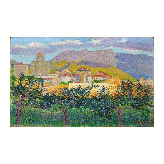 pinturas de paisagens - Quadro -Oyarzum-