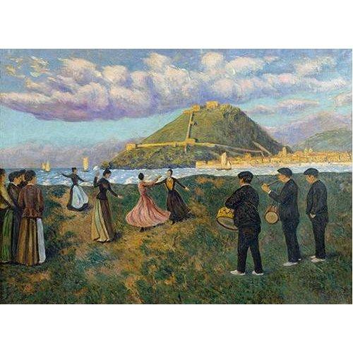 Quadro -Baile en El Antiguo, San Sebastian-