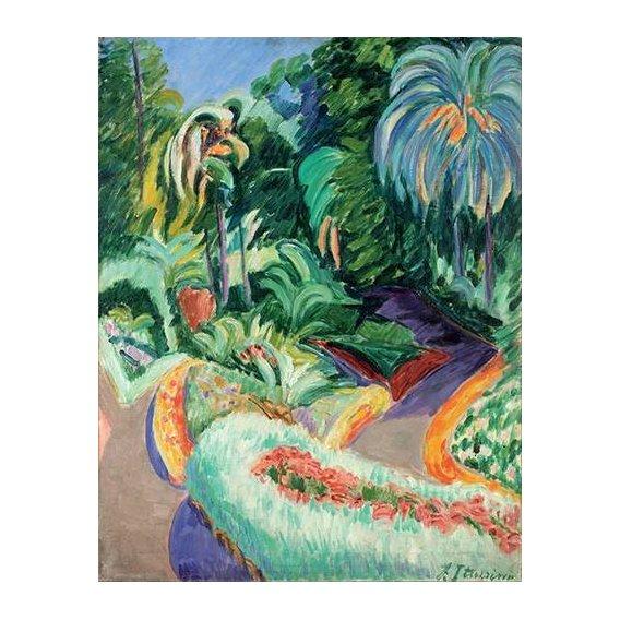 pinturas de paisagens - Quadro -Jardin-