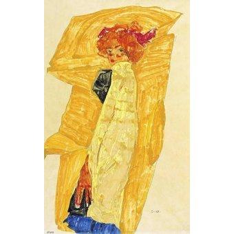 - Quadro -Alb Wien- - Schiele, Egon