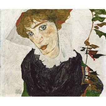 - Quadro -Crescent of Houses, 1915- - Schiele, Egon