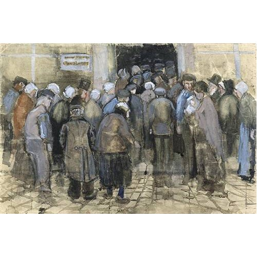 Quadro -The Poor and Money, 1882-