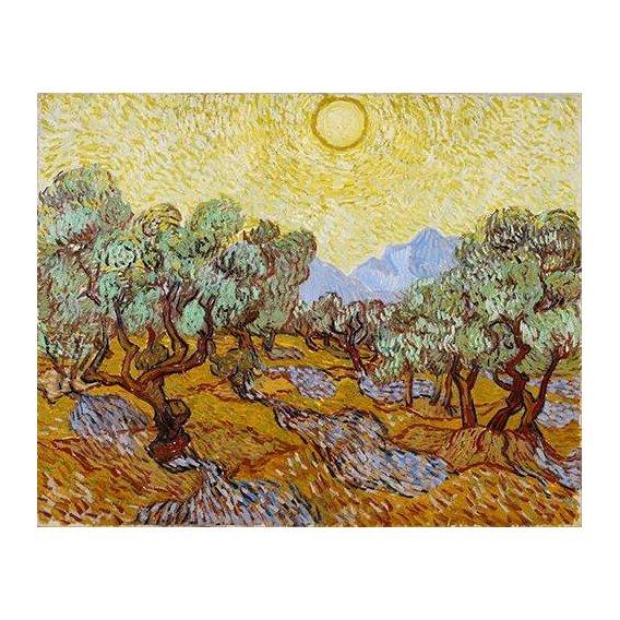 pinturas de paisagens - Quadro -Olive Trees-