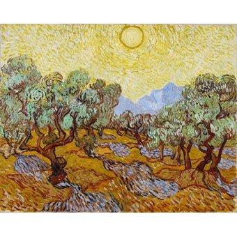 - Quadro -Olive Trees- - Van Gogh, Vincent