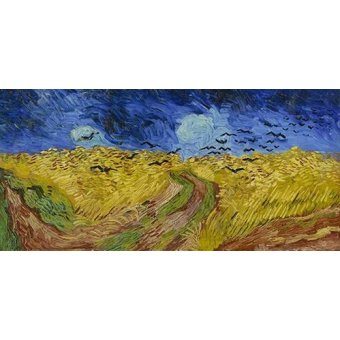 - Quadro -Wheatfield with Crows, 1890- - Van Gogh, Vincent