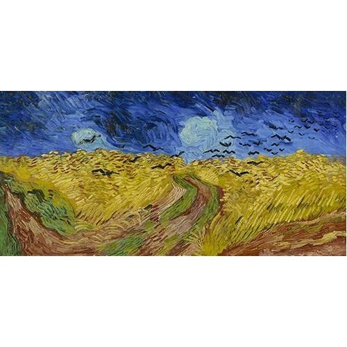 Quadro -Wheatfield with Crows, 1890-