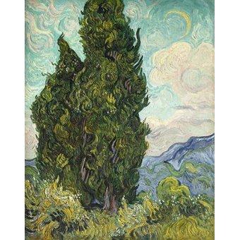 - Quadro -Cipreses- - Van Gogh, Vincent