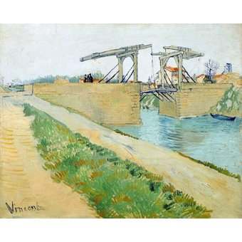 - Quadro -The Langlois bridge, 1888- - Van Gogh, Vincent
