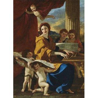 - Quadro -Santa Cecilia- - Poussin, Nicolas