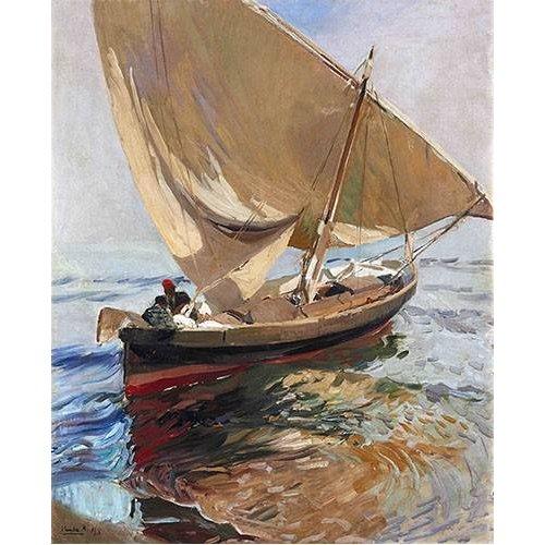 Quadro -Camino de la pesca, 1908-