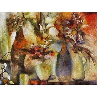 quadros de flores - Quadro -Moderno CM6069- - Medeiros, Celito