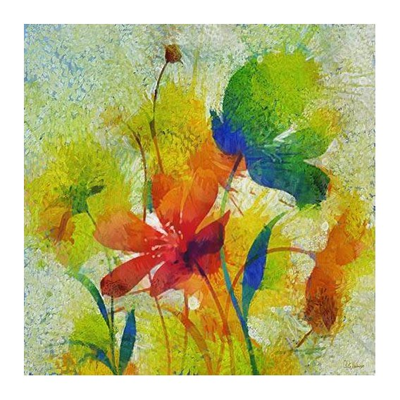 pinturas abstratas - Quadro -Moderno CM8818-