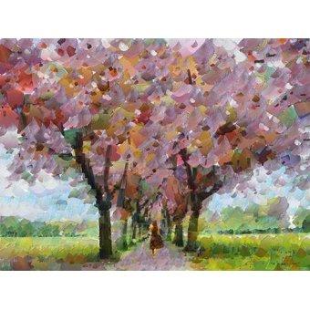 quadros de paisagens - Quadro -Moderno CM9080- - Medeiros, Celito