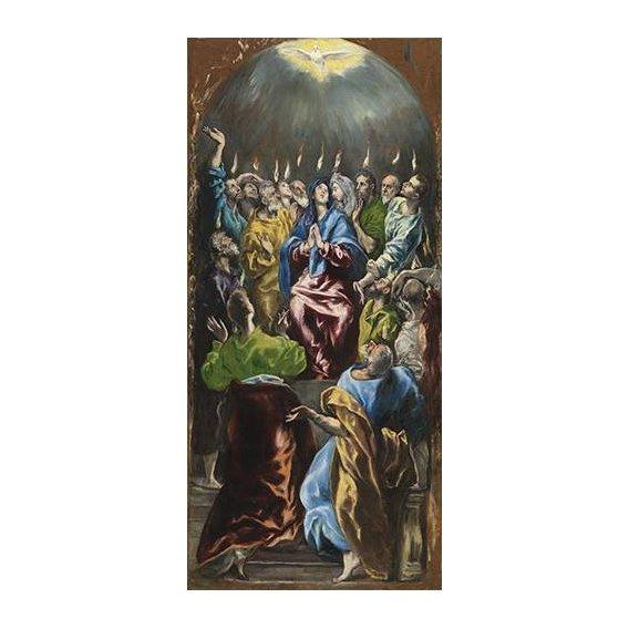 imagens religiosas - Quadro -Pentecostés, 1597-