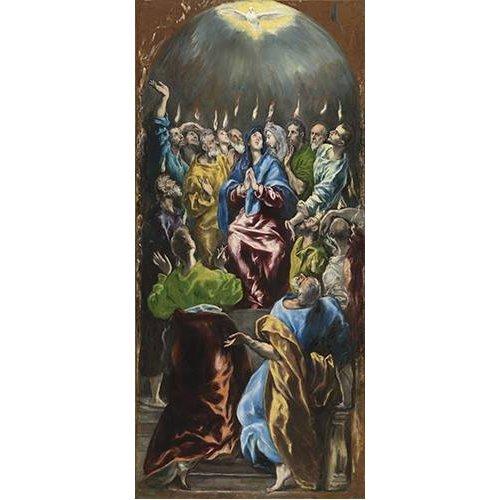 Quadro -Pentecostés, 1597-
