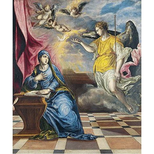 Quadro -La Anunciación, 1576-