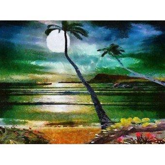 quadros de paisagens marinhas - Quadro -Moderno CM6203- - Medeiros, Celito
