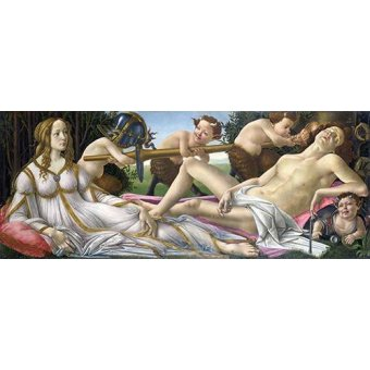 - Quadro -Venus y Marte- - Botticelli, Alessandro