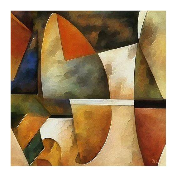 pinturas abstratas - Quadro -Moderno CM8884-