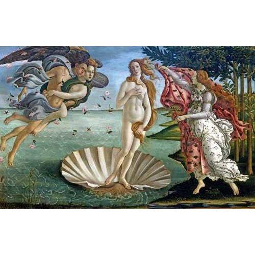 Quadro -O Nascimento de Vênus-
