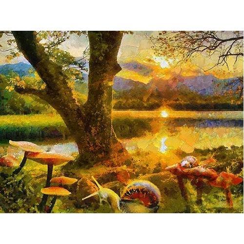 pinturas modernas - Quadro -Moderno CM9175-
