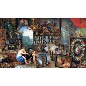 - Quadro -El sentido de la vista- - Bruegel