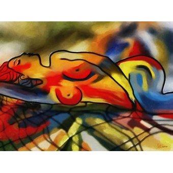 quadros nu artistico - Quadro -Moderno CM9640- - Medeiros, Celito