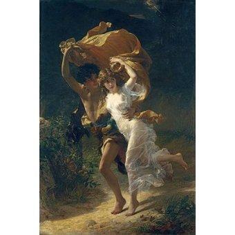 portrait and figure - Picture -The Storm, 1880- - Cot, Pierre-Auguste