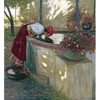 - Quadro -Ligurian Roses- - La Thangue, H.H.