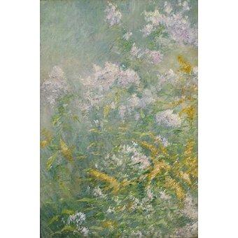 quadros de flores - Quadro -Flores del prado- - Twachtman, John
