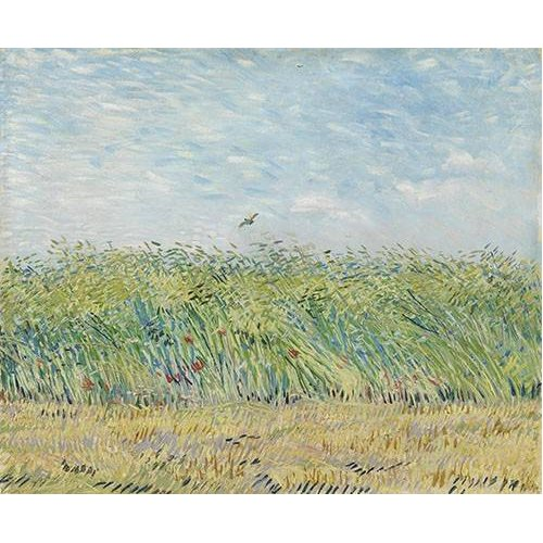Quadro -Wheatfield with Partridge,1887-