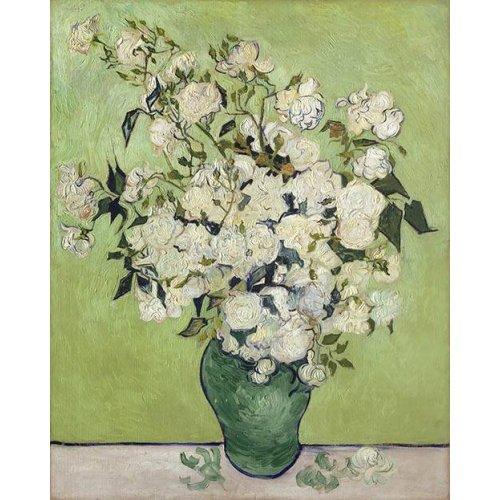Quadro -Vase of Roses, 1890-
